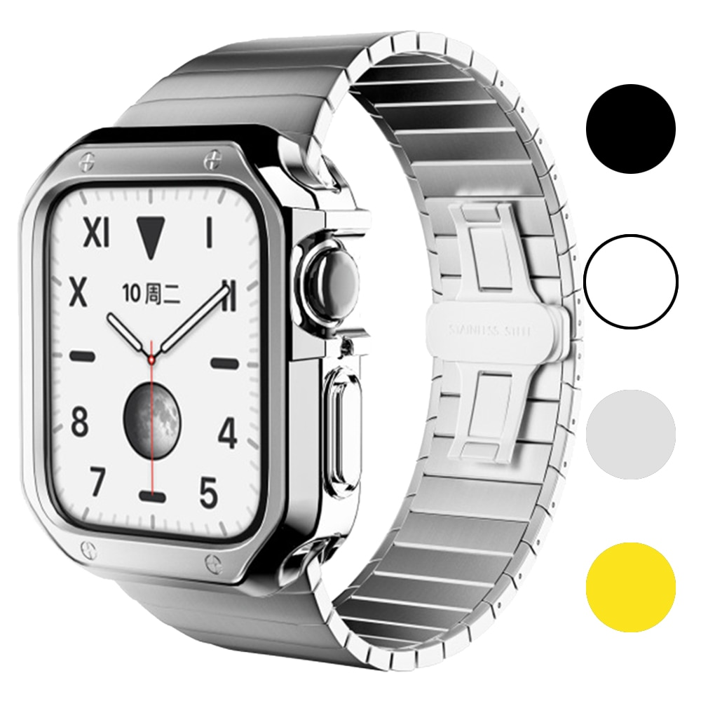 slim watch 360 cover for apple watch case 5 4 42mm 38mm soft clear tpu screen protector for iwatch 3 2 1 44mm 40mm accessories Watch Cover for Apple Watch Cover Case 6 SE 5 4 3 2 1 42MM 38MM Soft Clear TPU Screen Protector for iWatch 4 3 44MM 40MM