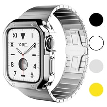 Watch Cover for Apple Watch Cover Case 6 SE 5 4 3 2 1 42MM 38MM Soft Clear TPU Screen Protector for iWatch 4 3 44MM 40MM