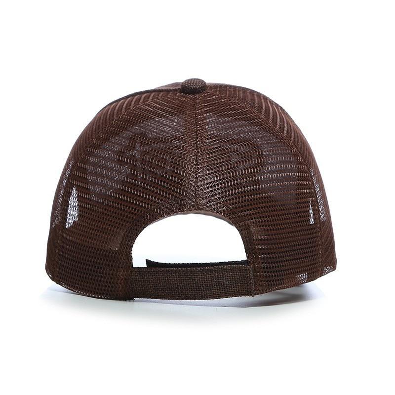 Summer Vented Baseball Sun Cap Hat Quick Dry Mesh Baseball Hat Outdoor Sports Cap Breathable Runner Cap Hiking Hat