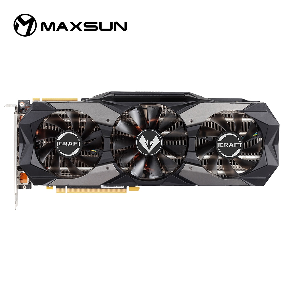 Maxsun Nvidia Geforce RTX2070 Super Icraft 8 Gb Grafische Kaarten GDDR6 256Bit 1605/1770 Mhz Dp * 3 Hdmi Video Card