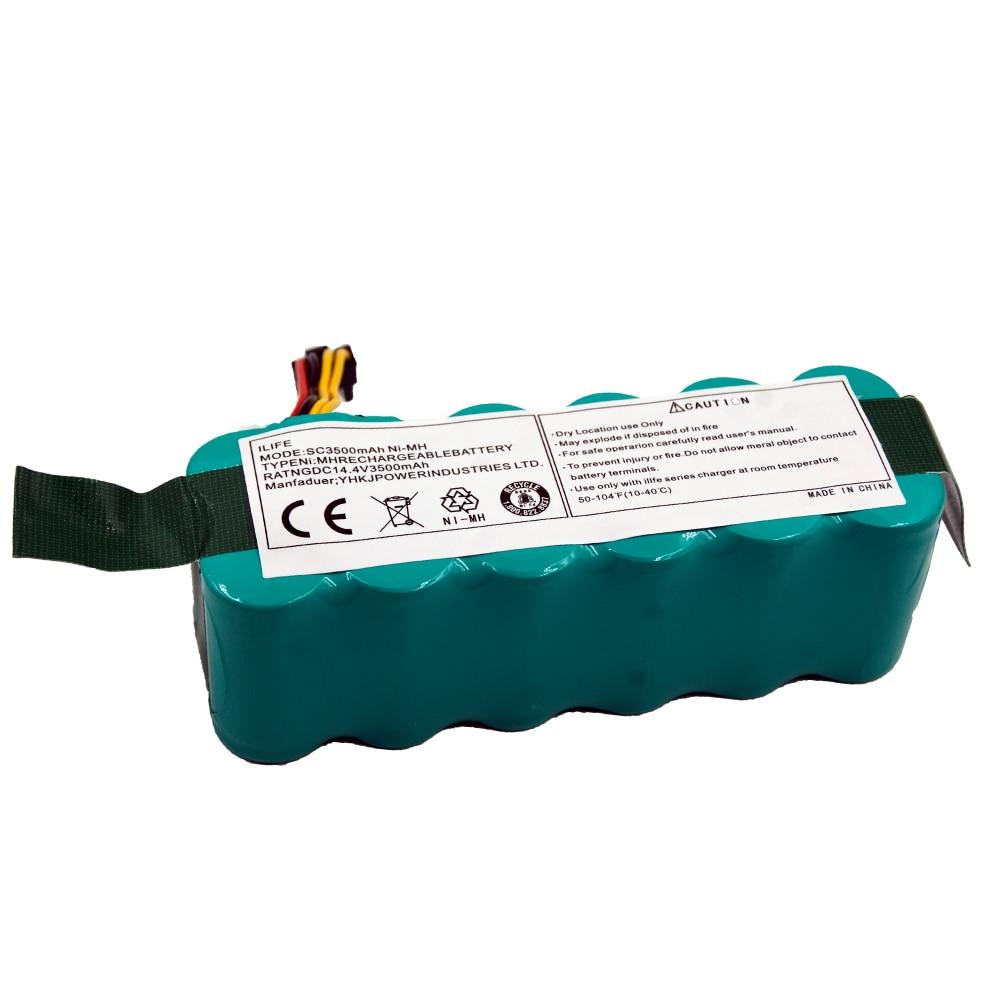 GTF 14.4 فولت SC 3500 mAh بطارية قابلة للشحن ل Ecovacs Dibea CR120 الباندا X500 X580 Kk8 هاير روبوت الاعوجاج ni-mh الأنظف البطارية