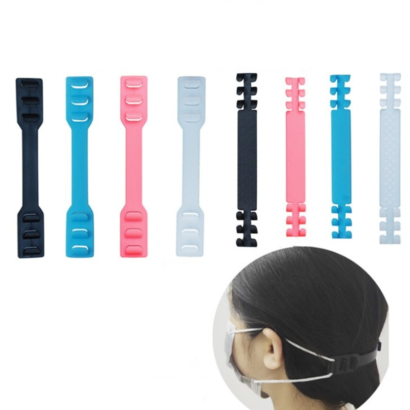 10pcs Masks Straps Extended Buckle Ear Protector Adjustable Anti-slip Mask Ear Grips Extension Hook