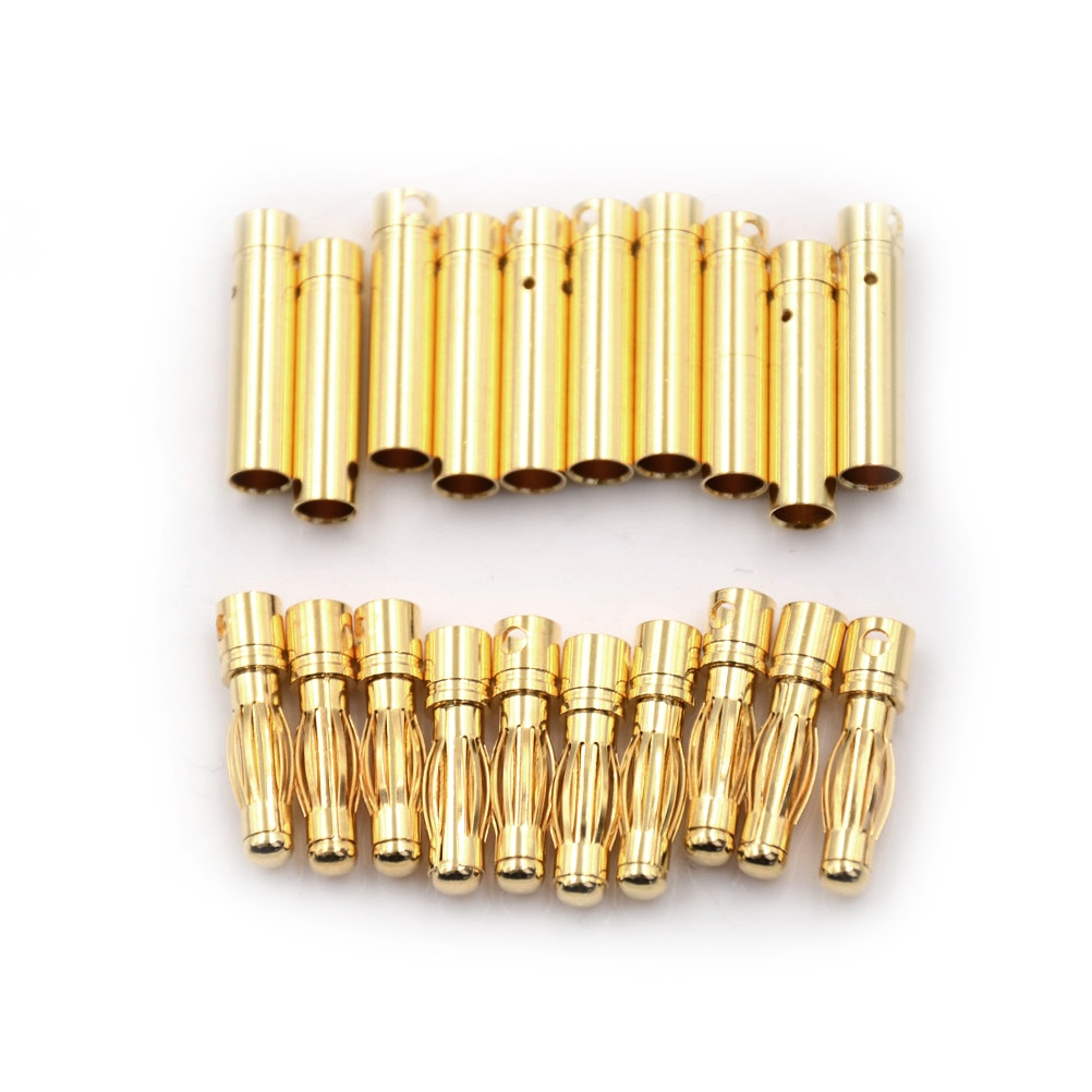 2pcs high quality 90 degree angel 4mm banana plug for video 24k gold plated speaker copper adapter audio banana connector 10Pair 4mm RC Battery Gold-plated Bullet Banana Plug High Quality Male Female Bullet Banana Connector