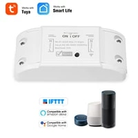 Wifi Smart Switch Compatible for Amazon Alexa   for Google Home Timer 2200W Wireless Remote Switch Smart Home Automation Module