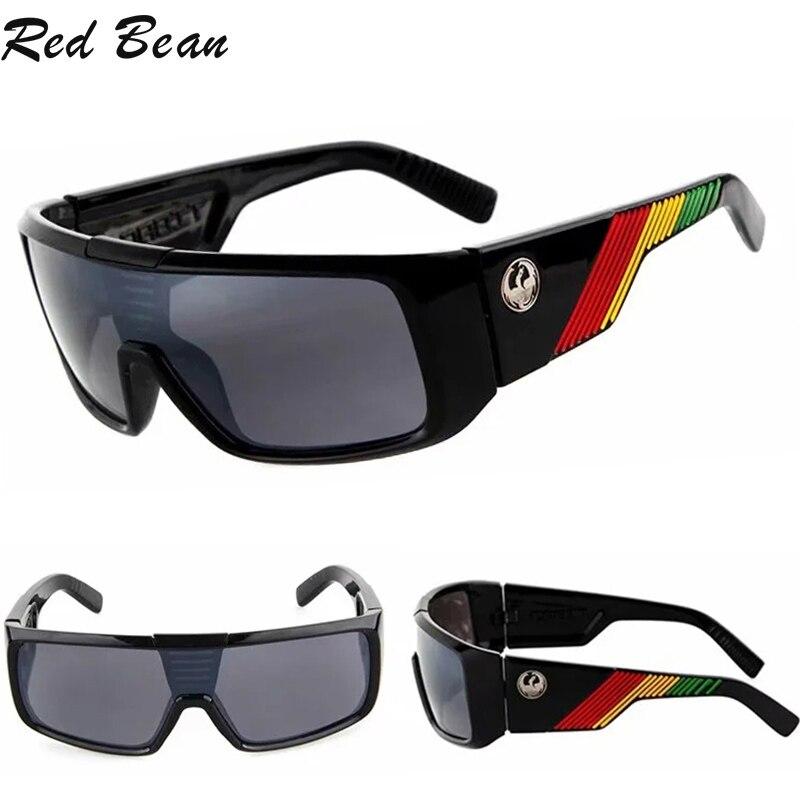 Солнцезащитные очки Мужские большого размера, винтажные зеркальные квадратные солнечные очки UV400, антибликовые, для вождения, спортивные с...
