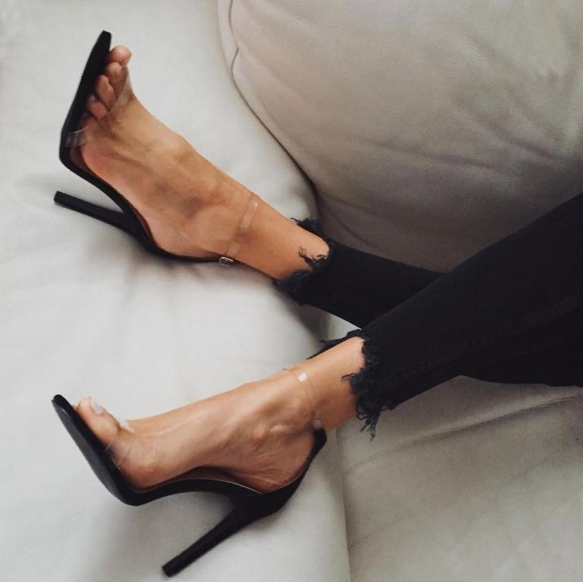 High Heels Summer Women Sexy Women Pumps Ladies Shoes Open Toe Women Sandals Women Heels Female Stil