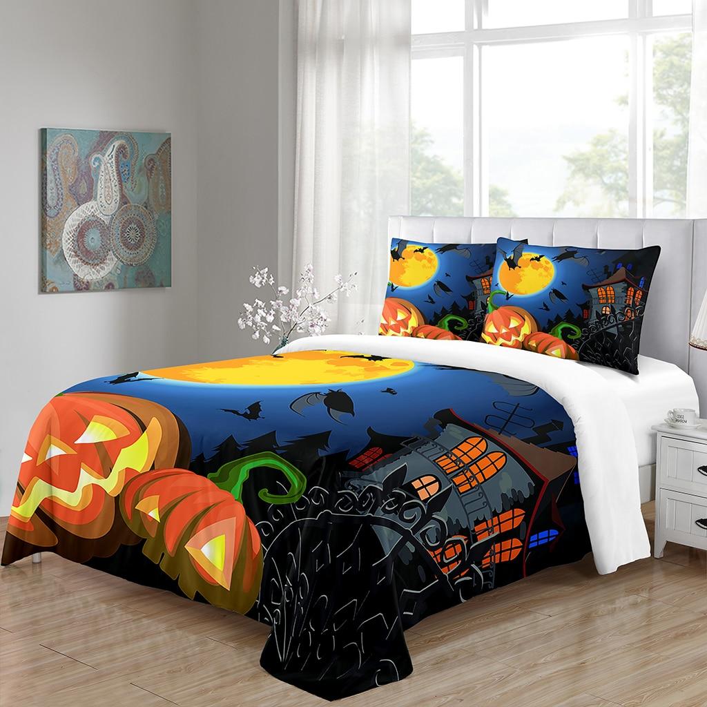Conjunto de almofadas para o quarto de dormir cama matrimonio drap conjunto de almofadas para o dia das bruxas juego sabanas lixamento