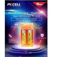 PKCELL Li-ion charger USB 5V 2A 2slots for 3.7V 18650/16340/14500/10440 Li-ion battery