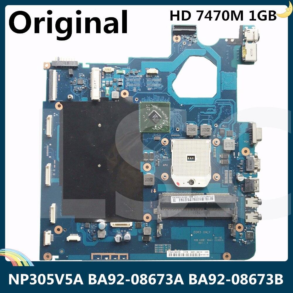 LSC para Samsung RC420 RV420 placa base de computadora portátil BA92-08153A BA92-08153B BA92-08078A BA92-08078B HM65