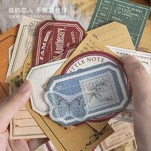 30pcs/pack Retro Impression Vintage Diy Stickers Decorative Scrapbooking Diary Album Stick Label