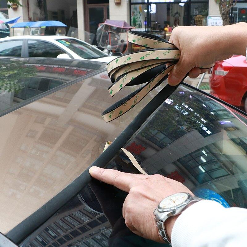 3M Car Windshield Sunroof Window Sealing Strip Trim accessories for Chevrolet Cruze TRAX Aveo Sonic Lova Sail EPICA Captiva