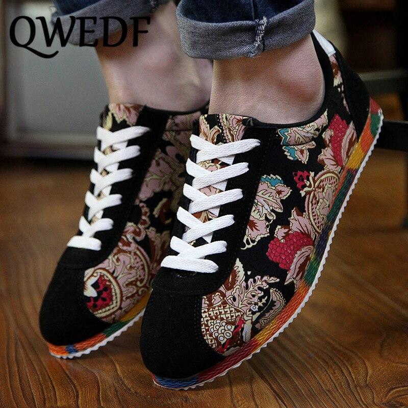 QWEDF primavera nuevos hombres versión coreana de zapatos de la tendencia de los zapatos de casual salvaje Zapatos casuales para hombres de los hombres zapatillas de deporte de MJ-06
