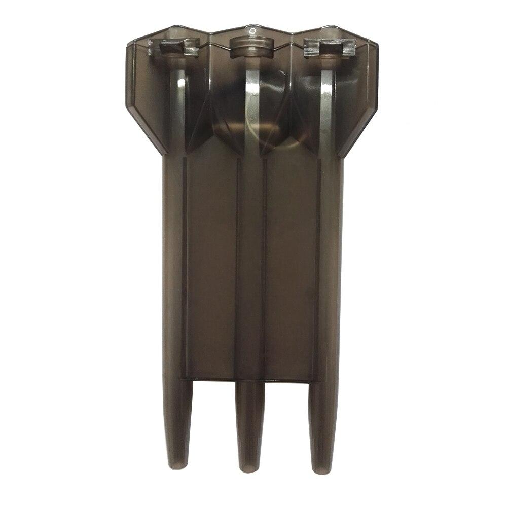 Estuche para dardos deportivos, estuche para dardos, contenedor para dardos con abrebotellas y hebilla para llave (negro)