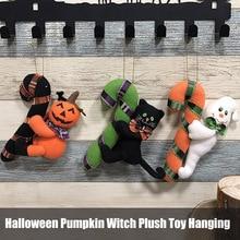 Peluche peluche suspendus citrouille poupées Halloween enfants peluche ornement pour la maison chambre BM88