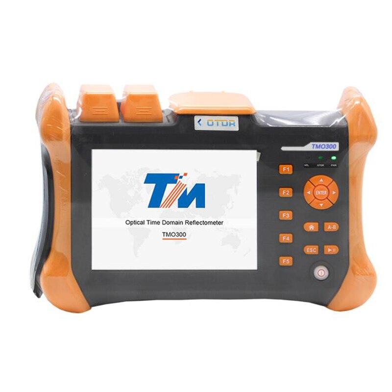 OTDR 1310/1550nm 32/30 дБ, интегрированный VFL, сенсорный экран оптического времени домена рефлектометр VFL