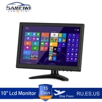 10 inch car monitor hd lcd hdmivgaavusbsd tvpc dvd player camera car rear view headrest monitor parking rearview system