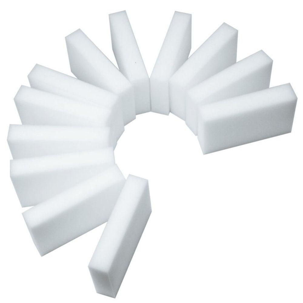 Novo 10/20 pçs esponja branca esponja mágica borracha borracha limpador limpeza esponjas para cozinha banheiro ferramentas de limpeza 10*6*2cm