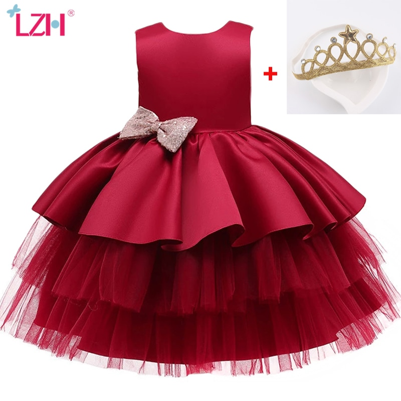 AliExpress - LZH Infant Dress Newborn Clothes Summer Costumes Baby Princess Party Dresses For Baby Girls Dress Kids 1st Year Birthday Dress