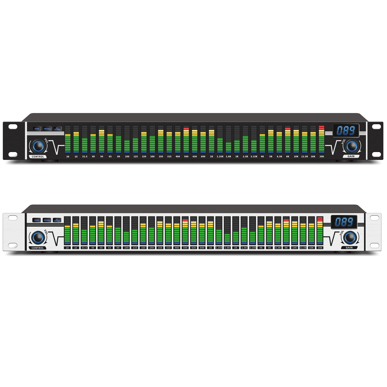 Lecizic-ecualizador Digital Dual De 31 bandas, ecualizador De Audio A3, sistema De...