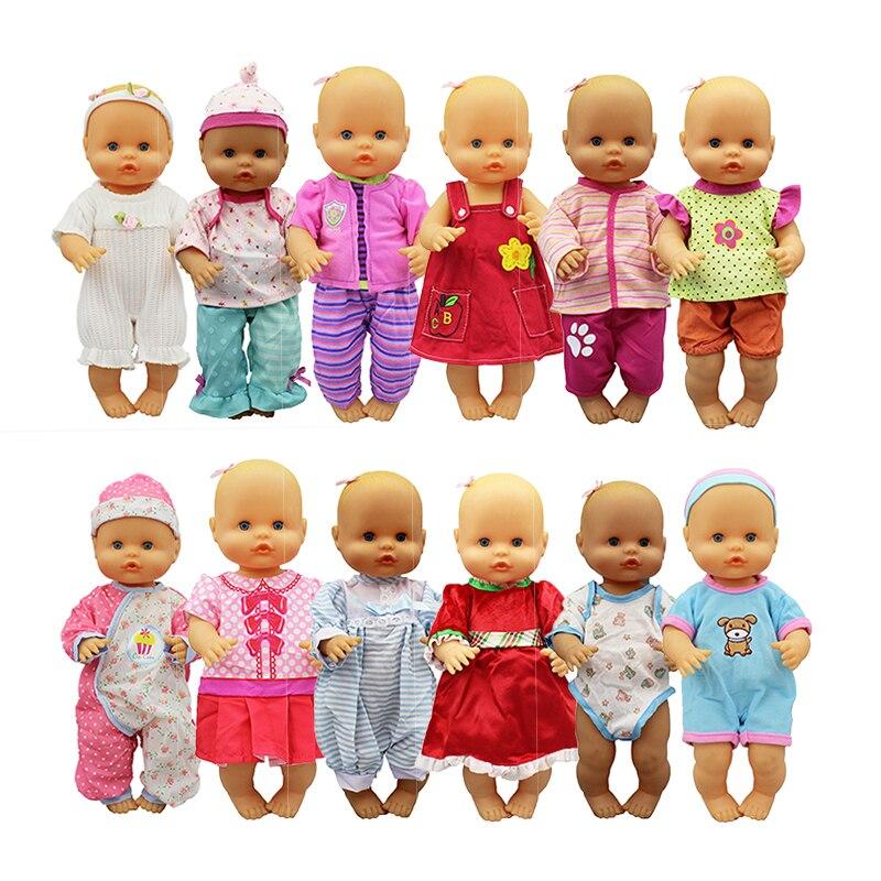 Nuevo Set de ropa para muñeca ajuste 33-35 cm de Nenuco muñeca Nenuco su Hermanita accesorios de la muñeca