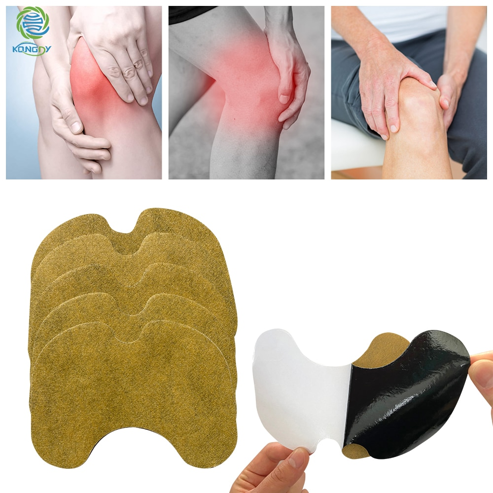 20 Pcs Alsem Extract Knie Pijn Pleister Spier Gezamenlijke Pijnstillende Reumatoïde Artritis Zelf Verwarming Kruiden Medische Patch