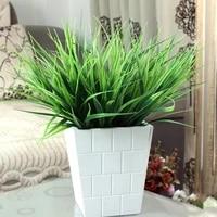 artificial greenery plastic wheat grass fake leaves shrubs greenery bushes indoor outside home garden office verandah