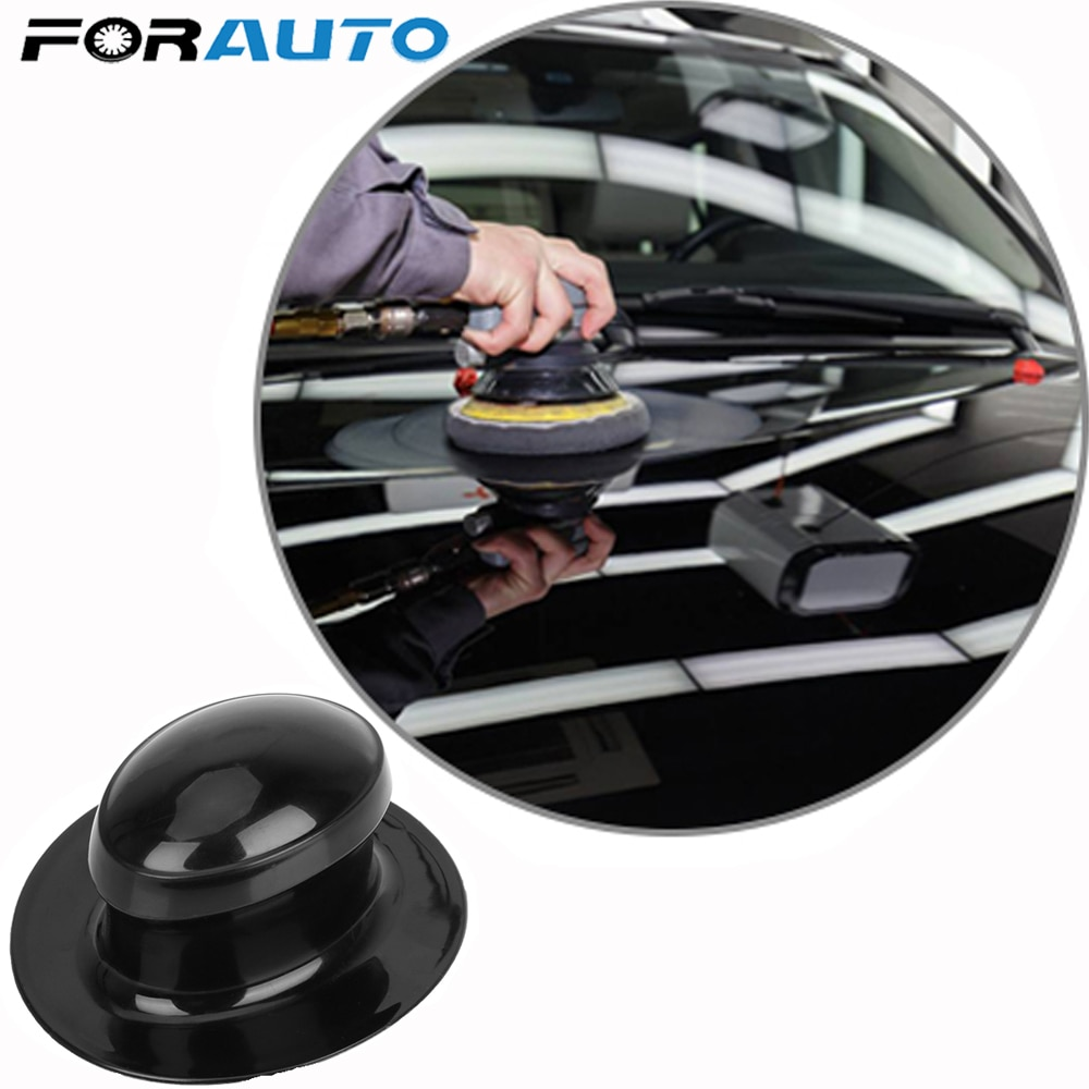 FORAUTO Car Wax Polishing Sponge Handle Plastic Handle Polish Pad Auto Care Cleaning Foam Gripper Washing Tool Car-styling
