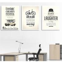 Affiche murale Vintage style nordique  citation et dictons dinspiration  affiche de motivation  decor de chambre denfant  decor de maison et de bureau