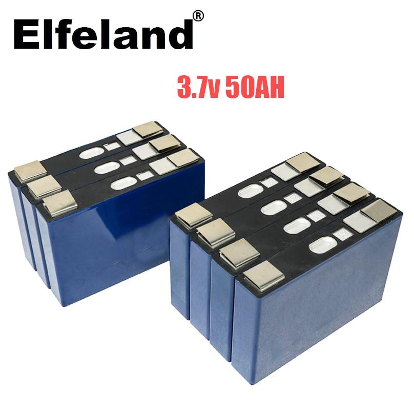2020 neue 3,7 V 50Ah 48V50ah NCM 1000 mal 24V roller E-prismatische batterie für elektrische golf warenkorb rollstuhl