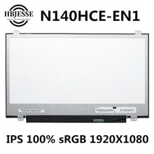 Original test well Exact Model N140HCE-EN1 Rev C2 LCD Screen Display Panel Matrix For Lenovo Thinkpad IPS 100% sRGB 30pin Matte