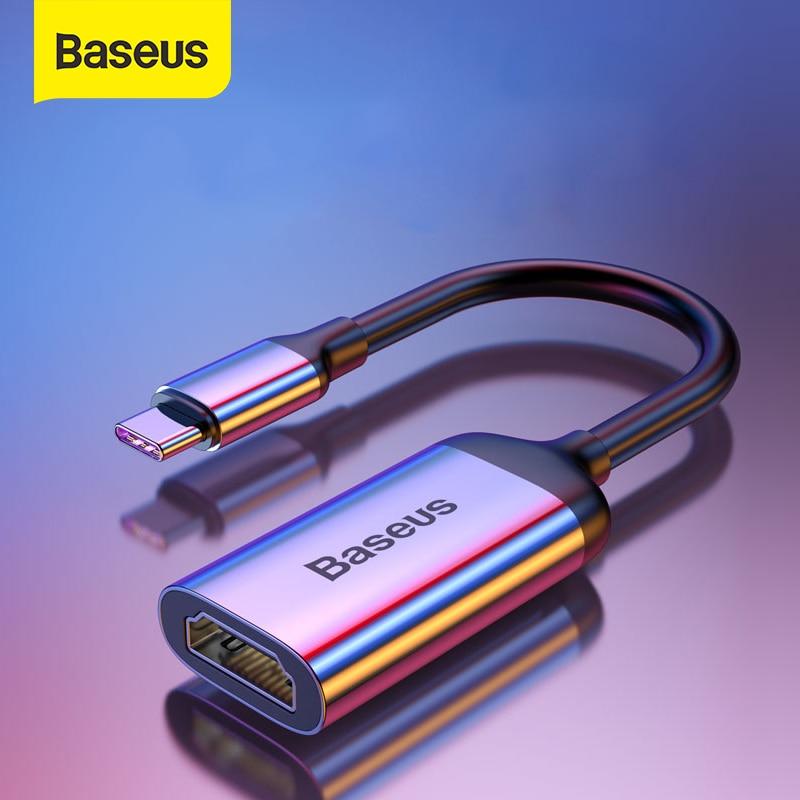 Baseus Type C HUB to HDMI 4K VGA Mini DP Adapter For MacBook Pro Air USB-C HUB Splitter Converter For Huawei Matebook HUB