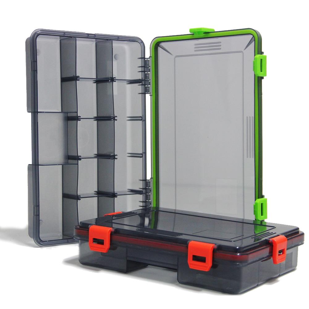 2021 High Quality Fishing Waterproof Fishing Tackle Box Large Capacity Bait Hook Accessory Box Fishing Tool Storage Box
