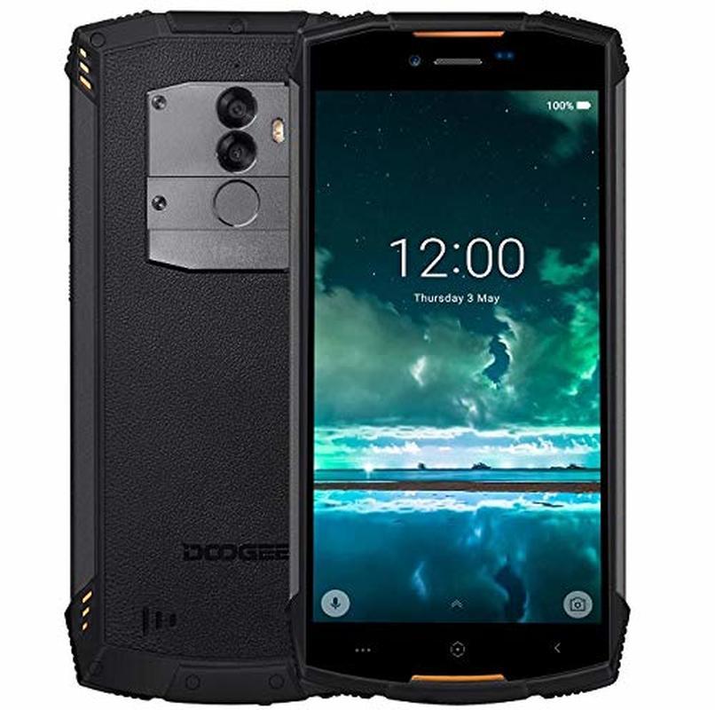 Перейти на Алиэкспресс и купить Прочные мобильные телефоны DOOGEE S55 Lite IP68 разблокированные уличные смартфоны 4G LTE Android 8,1 IP68 5,5 HD MTK673 сотовый телефон