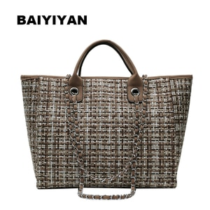 2020 New Women Vintage Canvas Big Tote Bag High Quality Large Handbag Retro Messenger Bag Ladies Shopping Shoulder Bag
