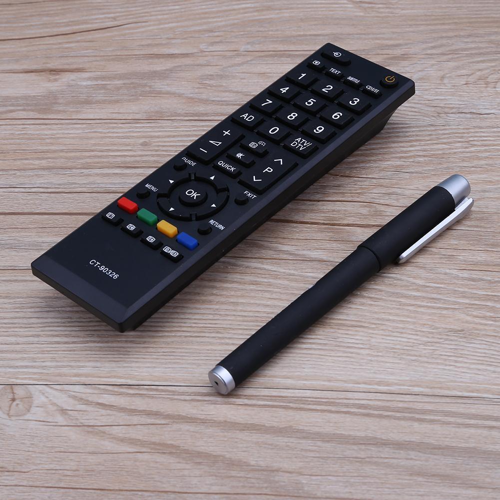 Para toshiba CT-90326 CT-90380 CT-90336 CT-90351 rc smart tv lcd sensor infravermelho interruptor de controle remoto controle remoto