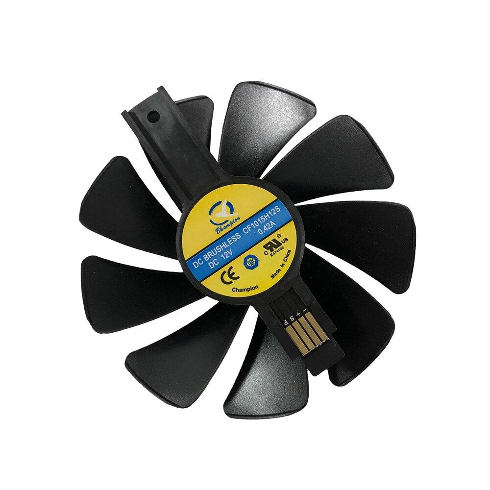 CF1015H12S FDC10U12S9-C GPU RX 480 RX 470 refrigerador NITRO engranaje LED ventilador para zafiro RX480 RX470 tarjeta de vídeo refrigeración como reemplazo