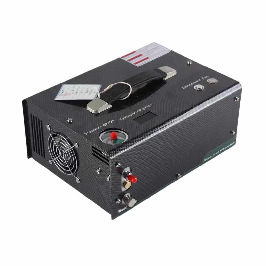التلقائي اغلاق Pcp ضاغط الهواء مضخة عالية الضغط 220 فولت 110 فولت المدمج في محول 12 فولت مضخة قابلة للنقل Pcp مسدس هواء نافخة 4