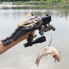 Jeu de fronde de pêche en acier inoxydable Laser avec ciblage infrarouge pour la chasse en plein air