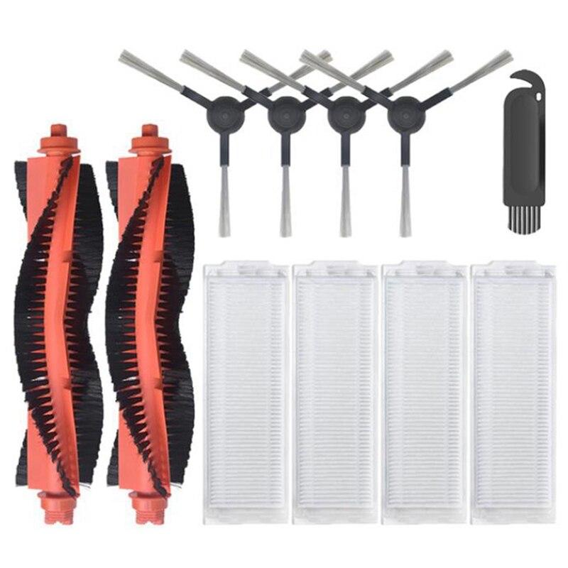 فرشاة رئيسية فرشاة جانبية فلتر Hepa لشاومي Mijia Mop Pro STYJ02YM/VIOMI V2 PRO/V3 ملحقات روبوت المكنسة الكهربائية
