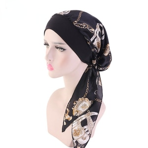 Printing Bandanas Hair Bands For  Women Square Country style  Satin Scarf Fashion Turban Headband New Vintage Hair Accessories