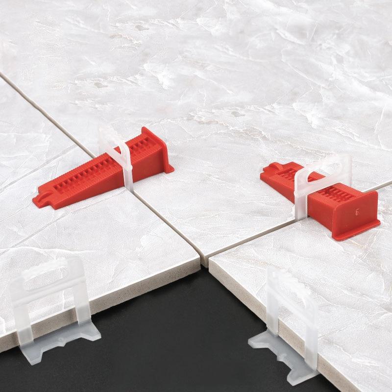 500 vnt. 1,5 mm plytelių išlyginimo sistemos išlyginimo tarpikliai - Statybos įrankiai - Nuotrauka 5