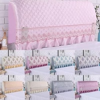 bed cover check pattern bed cover multi colored elastic bed cover stylish dust cover home textile products