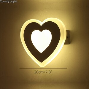 modern simple creative wall light sconces led indoor bedside children Bedroom Living Room lighting shopwindow Kitchen fixture