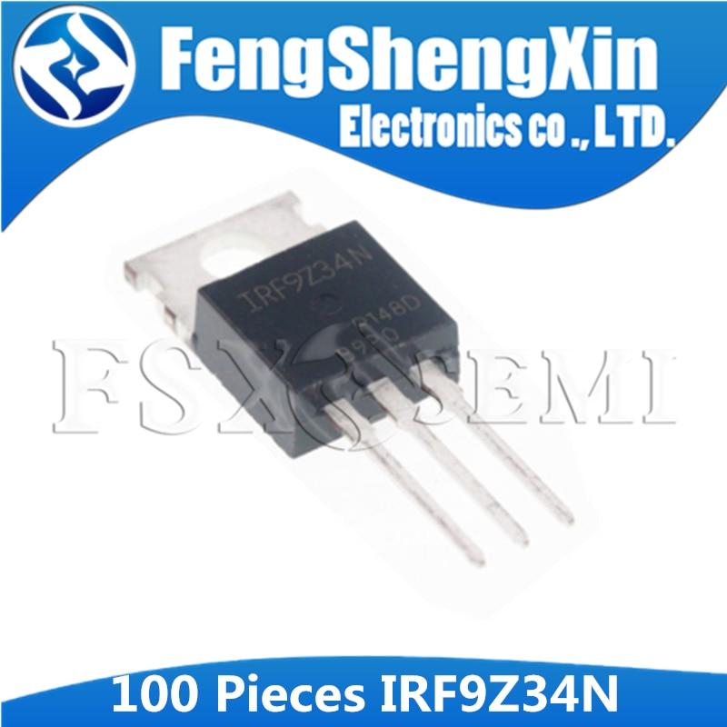 100 pçs/lote IRF9Z34N IRF9Z34 F9Z34N Power MOSFET PARA-220