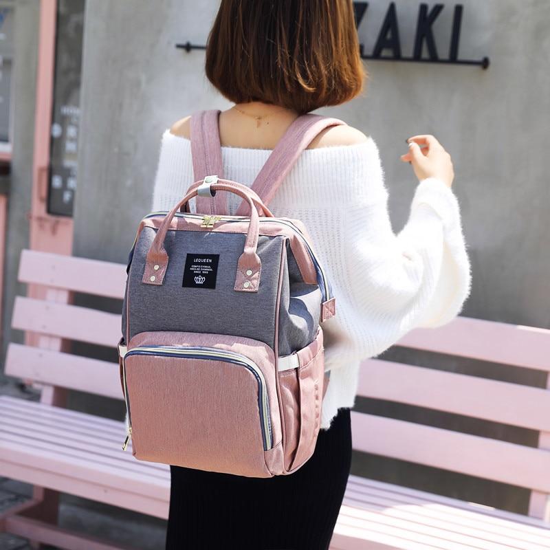 Baby Diaper Bag Backpack For Mom Maternity Bag For Stroller Nappy Bag Large Capacity Nursing Bag Female bag