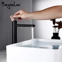 Lavabo chaud et froid a un trou  poignee moletee unique  lavabo de salle de bains  conception pivotante  bouton de moletage  robinet mitigeur deau monte sur le pont