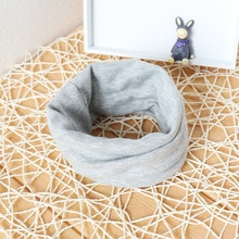 Solid Color Baby Scarf Cotton Kids Scarf Spring Autumn baby Boys Girls Infant Scarves Scarf for 0-4y