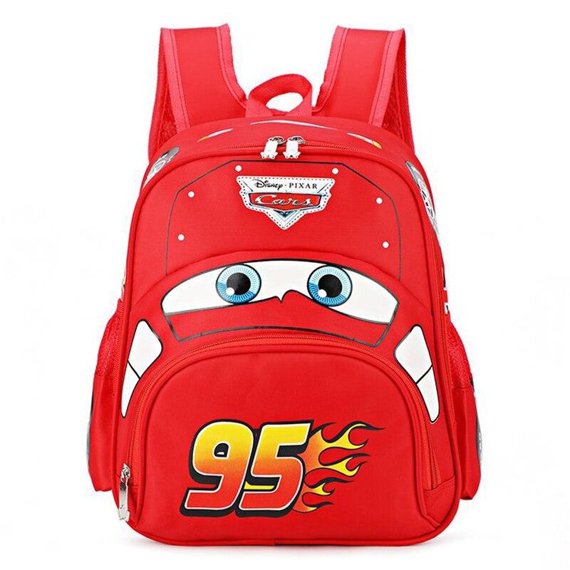 Disney Pixar Autos 2 3 Blitz McQueen kinder Tasche Heißer Spielzeug Sicherheit Schule Rucksack kinder Tag Geschenk für jungen