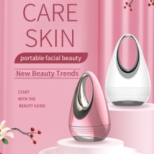 Face Beauty Vibration Massager Promote Absorb Essence Beauty Instrument Women Face Skin Care Tools M
