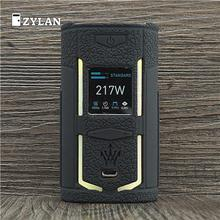 Étui pour VooPoo X217 217W TC boîte Mod manchon de protection en Silicone couverture complète pour VOOPOO Woody X217 Vape